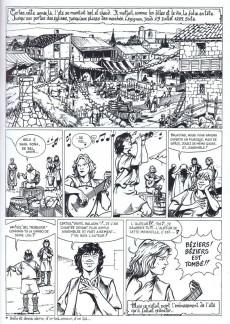 Extrait de Jehan et Armor -5- Carcassonne 1209