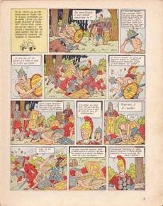 Extrait de Bob et Bobette (Collection du Lombard) -4- Gladiateur-mystère