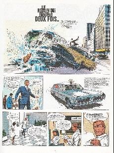 Extrait de Bruno Brazil -1+2- Le requin qui mourut deux fois / Commando Caïman