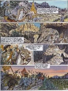 Extrait de Bayard - L'histoire de Bayard en BD