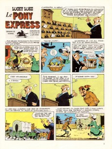 Extrait de Lucky Luke -59- Le Pony Express