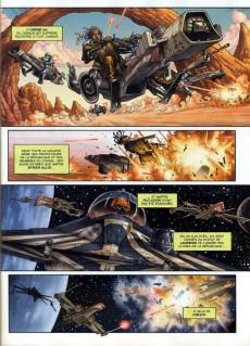 Extrait de Star Wars - BD Magazine / La saga en BD -3- Le Dernier Combat des Jedi - Les Origines de Dark Maul - Une aventure inédite de Quinlan Vos