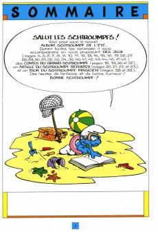 Extrait de Les schtroumpfs (Jeux) -1- Spécial jeux - L'album Schtroumpf de l'été