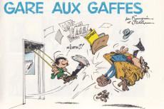 Extrait de Gaston -1a2007- Gare aux gaffes