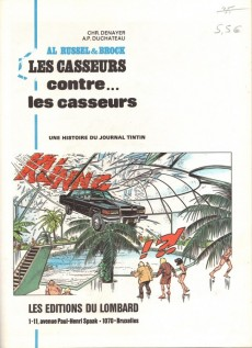 Extrait de Les casseurs - Al & Brock -4a1981- Les casseurs contre...les casseurs