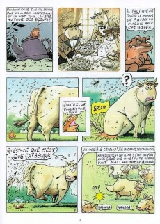 Extrait de La vache -2- À mort l'homme, vive l'ozone