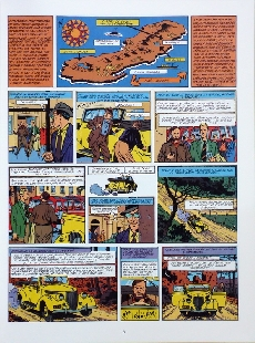 Extrait de Blake et Mortimer (Les aventures de) (Historique) -6TL2- L'Énigme de l'Atlantide