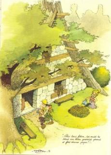 Extrait de Astérix (Hors Série) -2b- Comment Obélix est tombé dans la marmite du druide quand il était petit