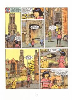 Extrait de Yoko Tsuno -20- L'astrologue de Bruges