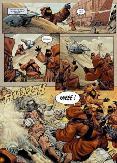 Extrait de Star Wars - BD Magazine / La saga en BD -7- Outlander (3&4/6) - La Légende des Jedi (3e partie) - Kenix Kil La Chute des héros & Une conviction inébranlable