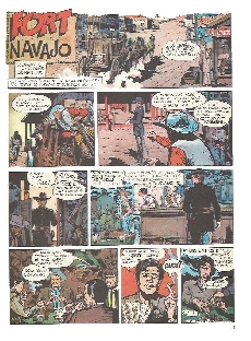 Extrait de Blueberry -1b81- Fort Navajo