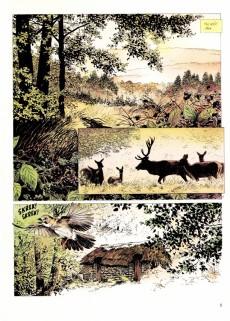 Extrait de La mémoire des arbres -1- La hache et le fusil - tome 1