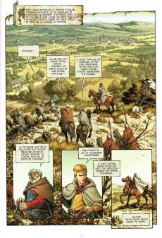 Extrait de Le trône d'Argile -2- Le pont de Montereau