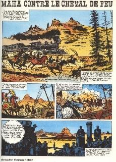 Extrait de L'histoire en Bandes Dessinées -1- L'épopée sanglante du Far West