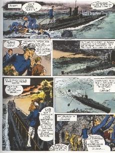 Extrait de L'histoire en Bandes Dessinées -4- L'enfer sur mer
