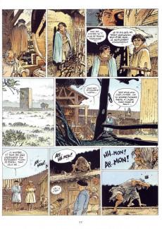 Extrait de Les tours de Bois-Maury -5a1990- Alda