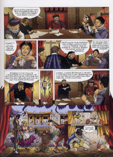 Extrait de La reine Margot (Derenne/Gheysens/Cadic) -2- Le roi de Navarre