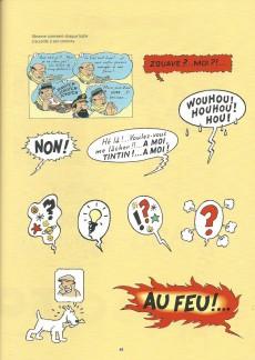 Extrait de Tintin - Divers -30FL- L'atelier de la bande dessinée : j'apprends à dessiner les personnages