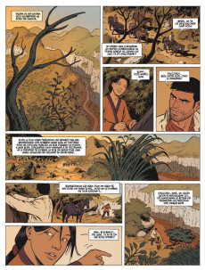 Extrait de Mékong -2- Piège en forêt Moï