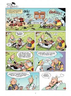 Extrait de Les rugbymen -5- On va gagner avec le lard et la manière