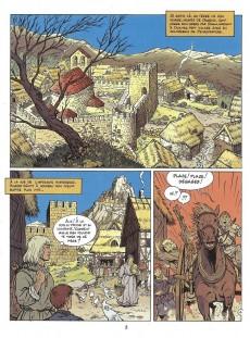 Extrait de Les aigles décapitées -7c- La prisonnière du donjon