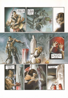 Extrait de Le fléau des dieux -2- Dies Irae
