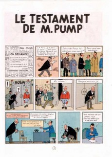 Extrait de Jo, Zette et Jocko (Les Aventures de) -1B42- Le testament de M. Pump