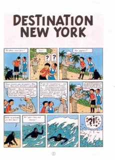 Extrait de Jo, Zette et Jocko (Les Aventures de) -2B42- Destination New York