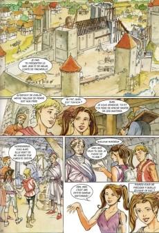 Extrait de Les aventures d'Aline -5- Les tours de Blandy
