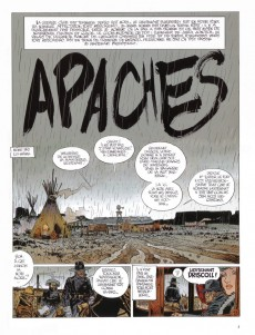 Extrait de Blueberry -HC- Apaches