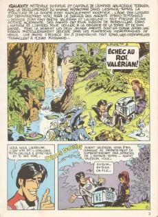 Extrait de Valérian (16/22) -222- La cité des eaux mouvantes