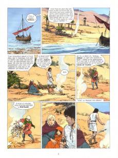 Extrait de Thorgal -26- Le Royaume sous le Sable