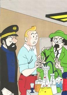 Extrait de Tintin - Pastiches, parodies & pirates -PIR- Tintin et les oranges bleues