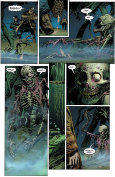 Extrait de Swamp Thing Vol.4 (DC comics - 2004) -1- Earth's Elemental Returns to His Roots