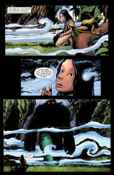 Extrait de Swamp Thing Vol.4 (DC comics - 2004) -9- (sans titre)