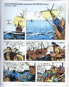 Extrait de Christophe Colomb (Jijé) -2- La trahison