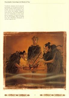 Extrait de Lanfeust de Troy -HS2- Encyclopédie anarchique du monde de Troy