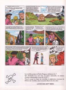 Extrait de Barbe-Rouge -1c1984- Le démon des Caraïbes