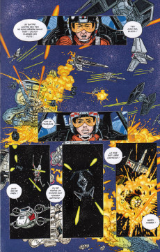 Extrait de Star Wars - X-Wing Rogue Squadron (Delcourt) -4- Le Dossier fantôme