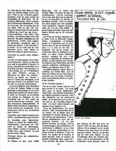 Extrait de (DOC) Études et essais divers - Bande dessinée 1981-1982
