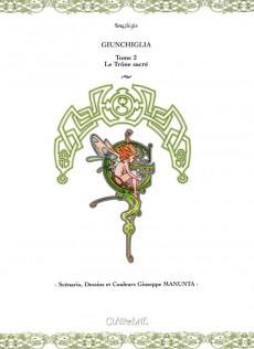 Extrait de Giunchiglia -2- Le Trône Sacré