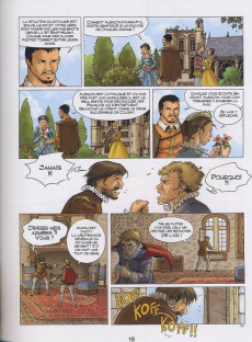 Extrait de La reine Margot (Derenne/Gheysens/Cadic) -3- Le Comte de La Mole