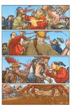 Extrait de Shaolin Cowboy (Panini) -1- La Vengeance du Roi crabe