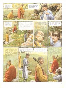 Extrait de Le moine fou -6- Les matins du serpent