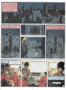 Extrait de Blake et Mortimer (France Loisirs) -6- La marque jaune