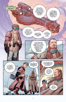 Extrait de Star Wars - Jedi -6- Qui-Gon & Obi-Wan