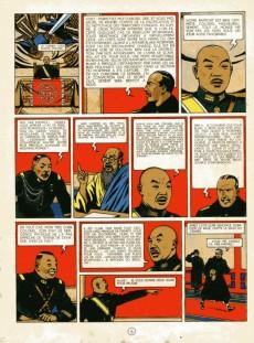 Extrait de Blake et Mortimer (Historique) -2- Le Secret de l'Espadon - Tome II
