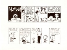 Extrait de Calvin and Hobbes (1987) -8- The days are just packed
