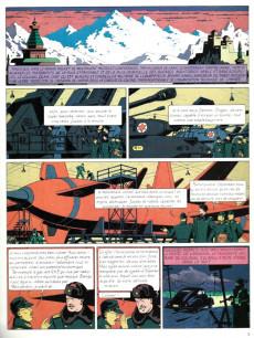 Extrait de Blake et Mortimer (Les Aventures de) -1- Le Secret de l'Espadon T1