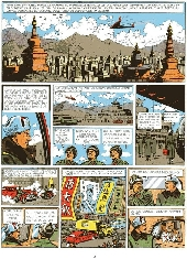 Extrait de Blake et Mortimer (Les Aventures de) -2- Le Secret de l'Espadon T2